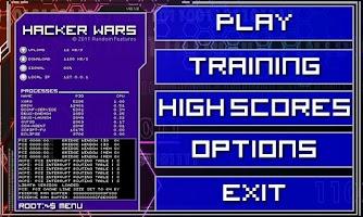 Screenshot of Hacker Wars Free