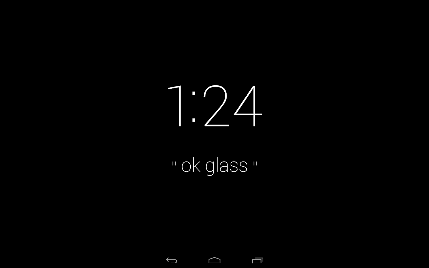 MyGlass - screenshot