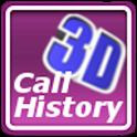 Call History 3D Ad-Free logo
