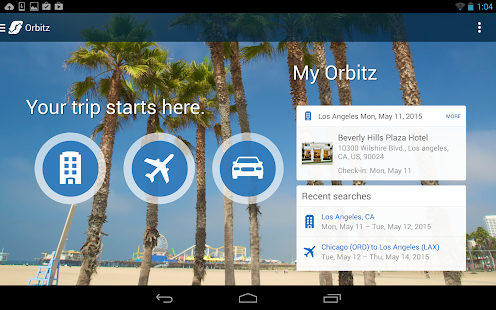 Orbitz - Flights, Hotels, Cars Screenshot 16