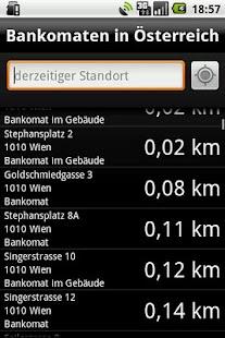 Bankomaten in Österreich Screenshot 2