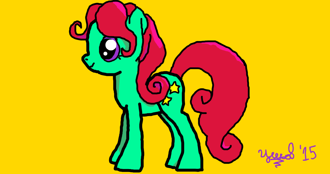A made up pony