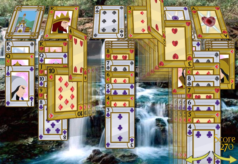 Solitaire 3D- screenshot