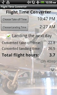 Flight Time Converter- screenshot thumbnail