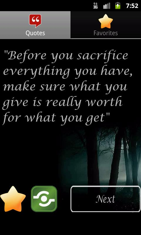 Cool Life Quotes - screenshot