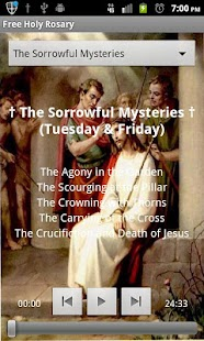 Scriptural Rosary - screenshot thumbnail