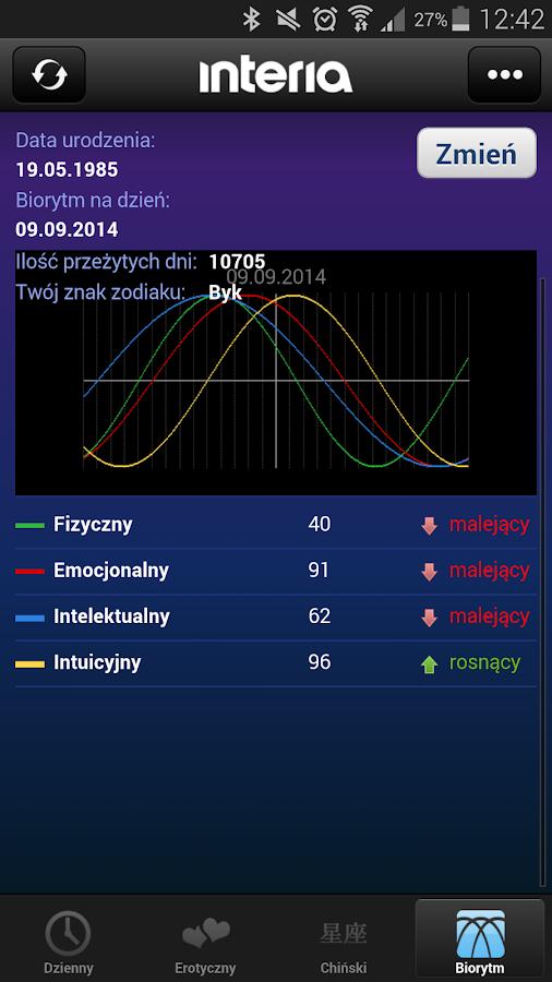 Horoskop - screenshot