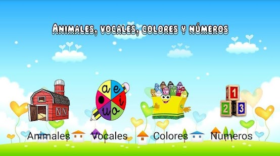 Animales Números y Vocales- screenshot thumbnail