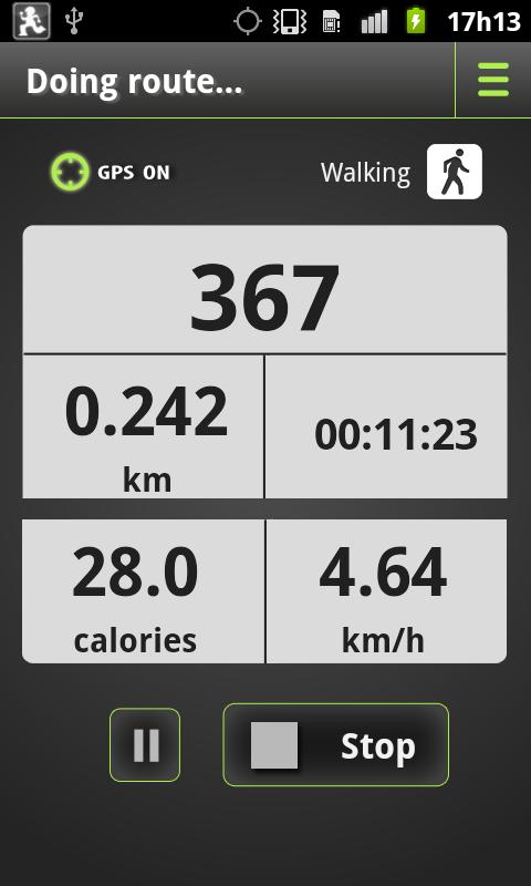 Pedometer Plus- screenshot