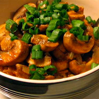 Mushroom Bhaji.