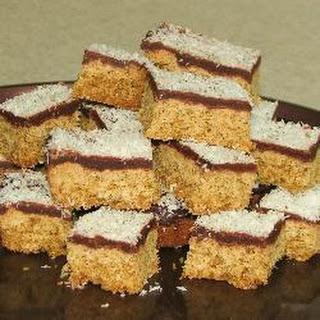 Chocolate and Coconut Weetabix Slice.