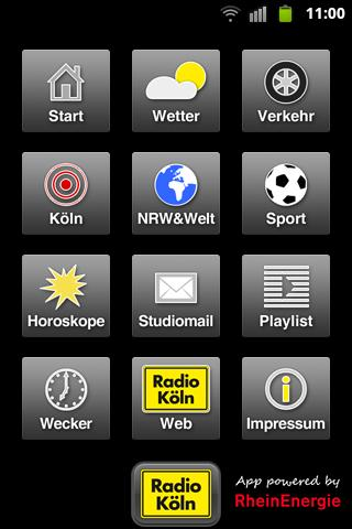 Radio Köln - screenshot