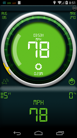 Gps Speedometer 1.3.2 screenshot 378907