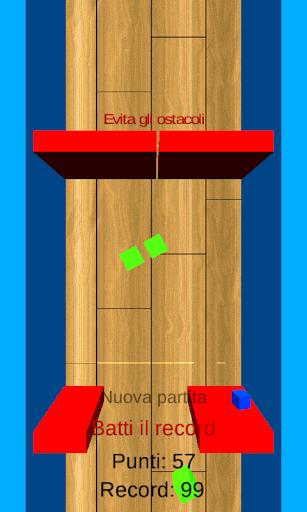 Corsa dei cubi 3D
