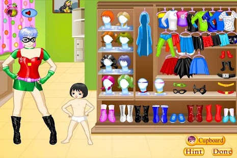 Super Mom Dress Up - screenshot thumbnail