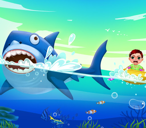 【免費家庭片App】Shark Attack! Kids Hero Rescue-APP點子