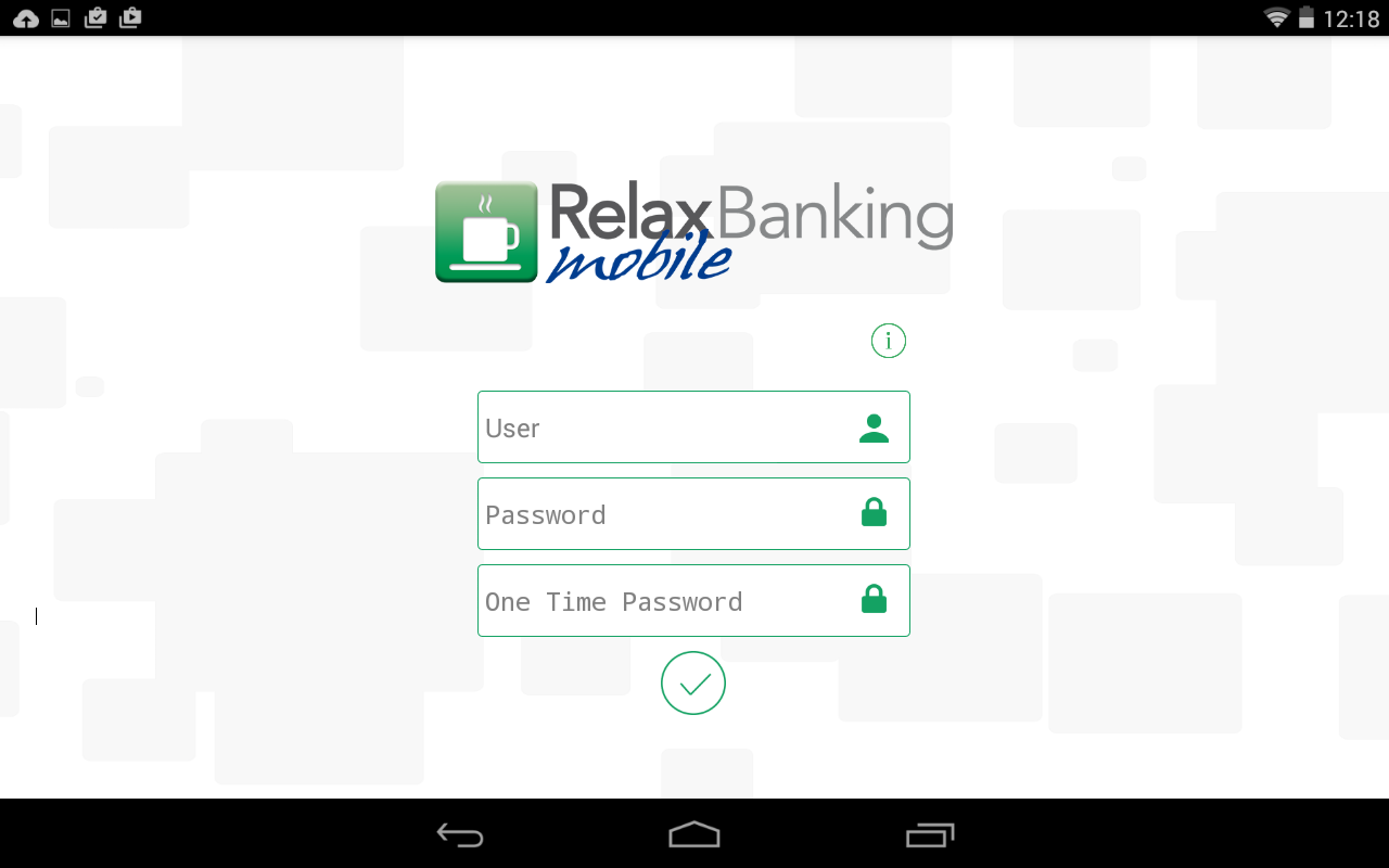 RelaxBanking Mobile- screenshot