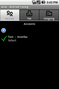 aFax - screenshot thumbnail