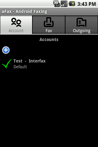 aFax - screenshot