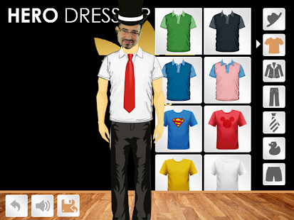 Hero Dress Up- screenshot thumbnail