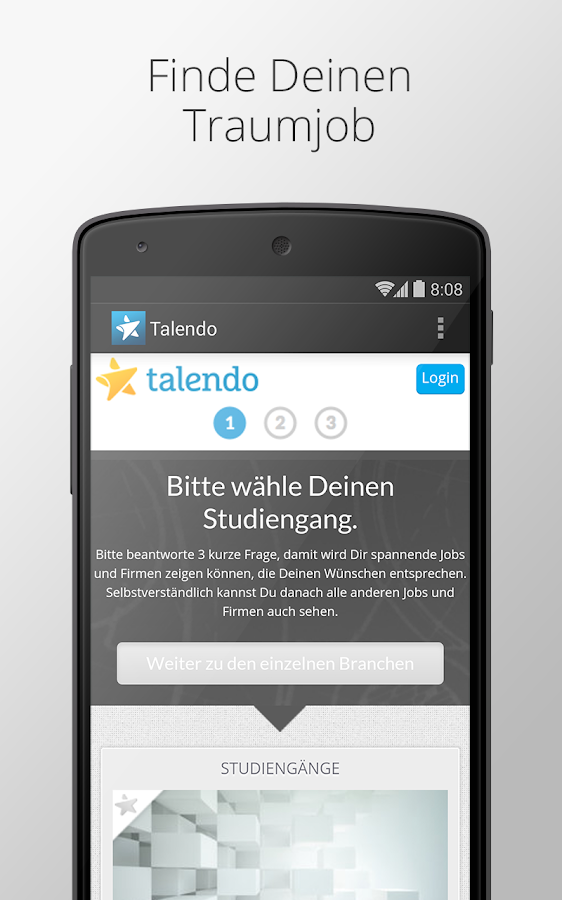talendo – Screenshot