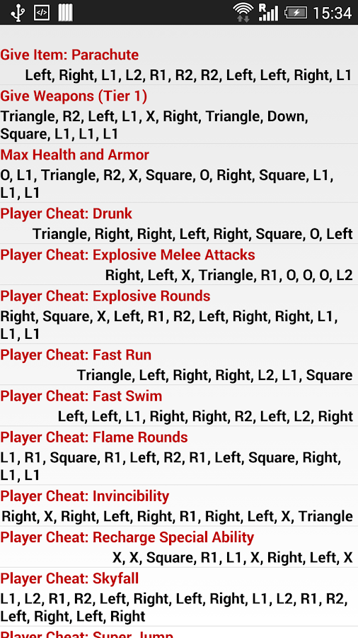 Unofficial Cheats for GTA5 - Android Apps on Google Play