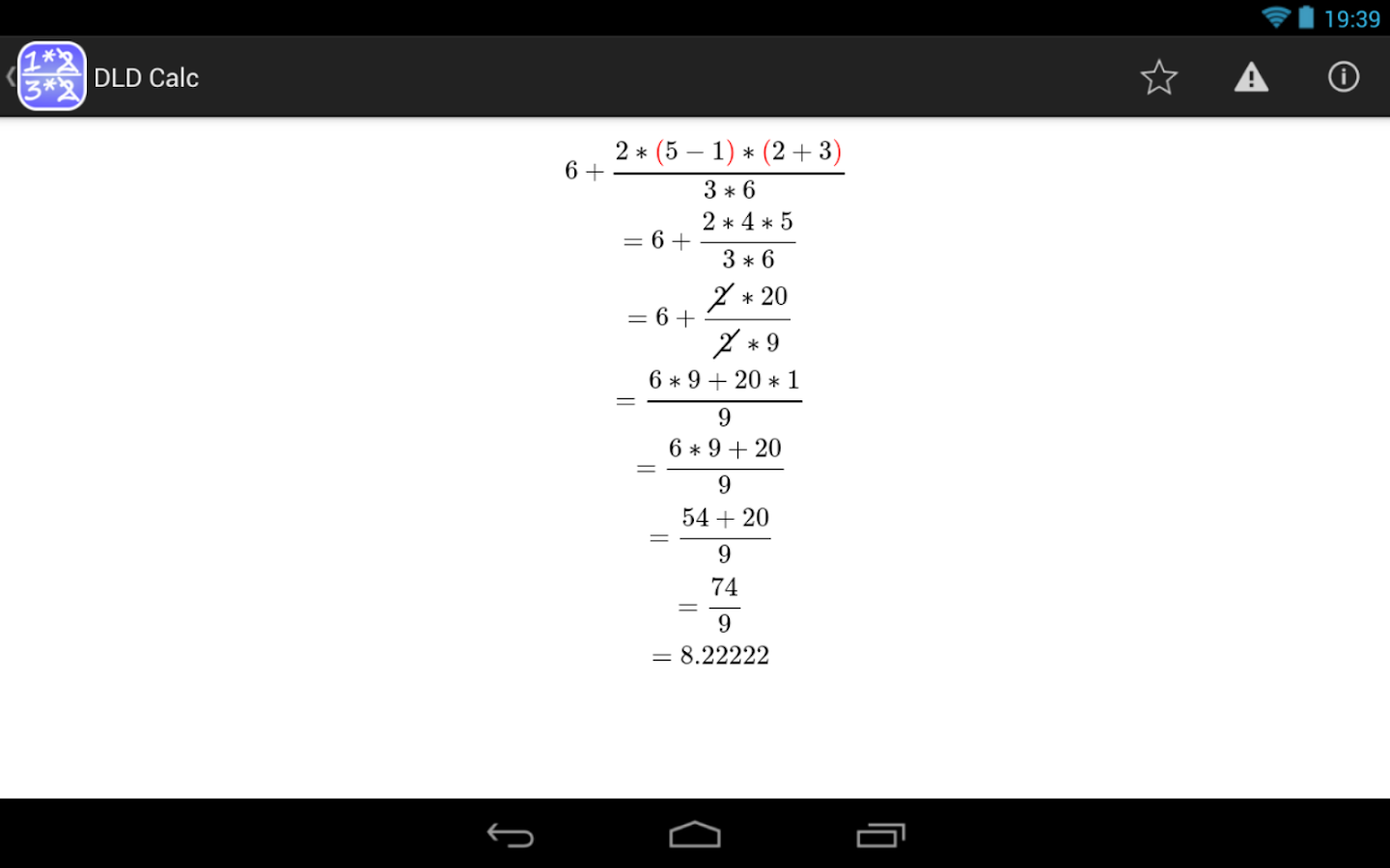 DLD Calc - Math Calculator- screenshot