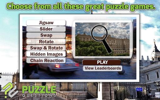 Madrid Puzzle Games