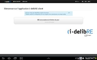 Screenshot of i-delibRE