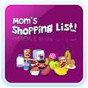 Mom's Shopping List logo