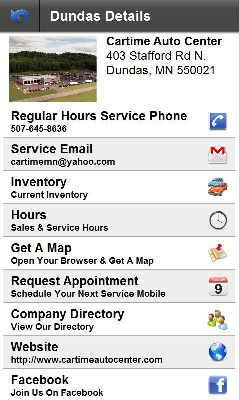 Cartime Auto Center- screenshot