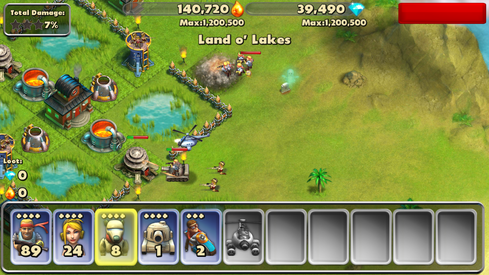 Battle Beach - screenshot