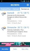 Screenshot of Météo Pocket