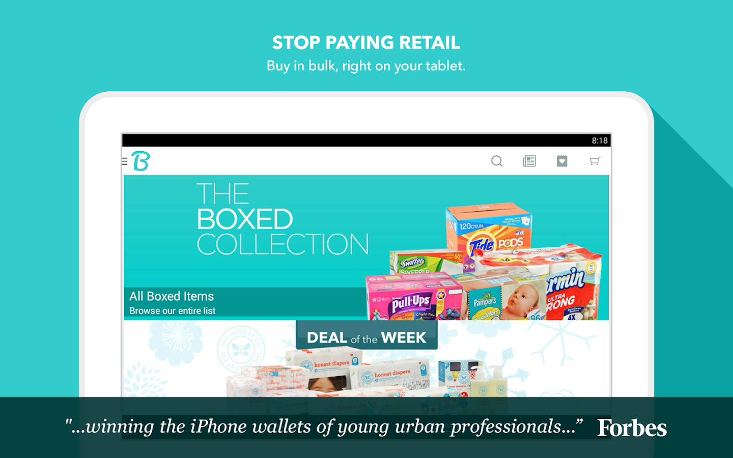 Boxed Wholesale - screenshot