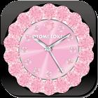 ALARM WORLD QLOCK BabyPink LWP icon