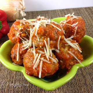 Cheese-Stuffed Gluten Free Meatballs