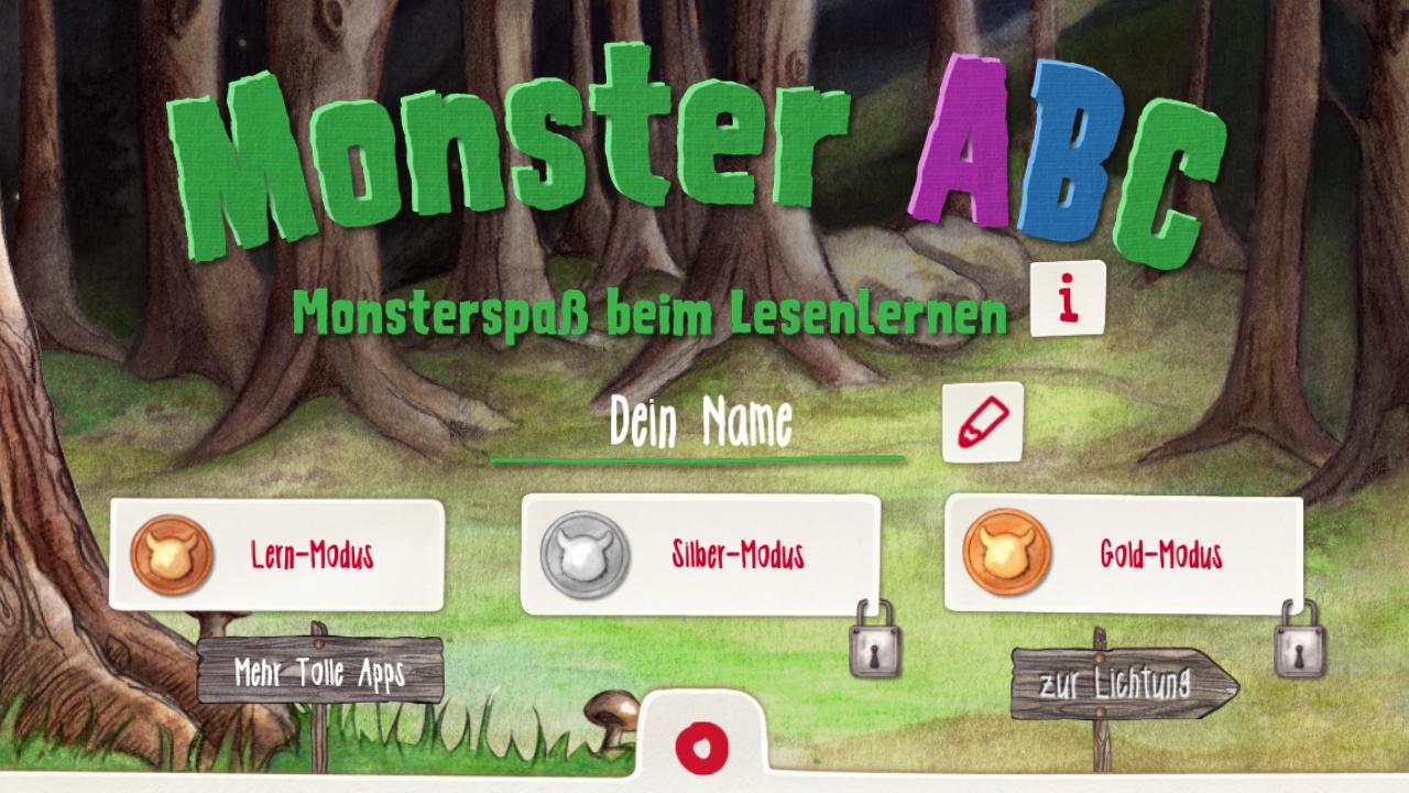 monster abc lernen mit den kleinen monstern android apps auf google play. Black Bedroom Furniture Sets. Home Design Ideas