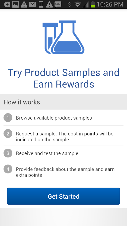 Life Science Rewards- screenshot
