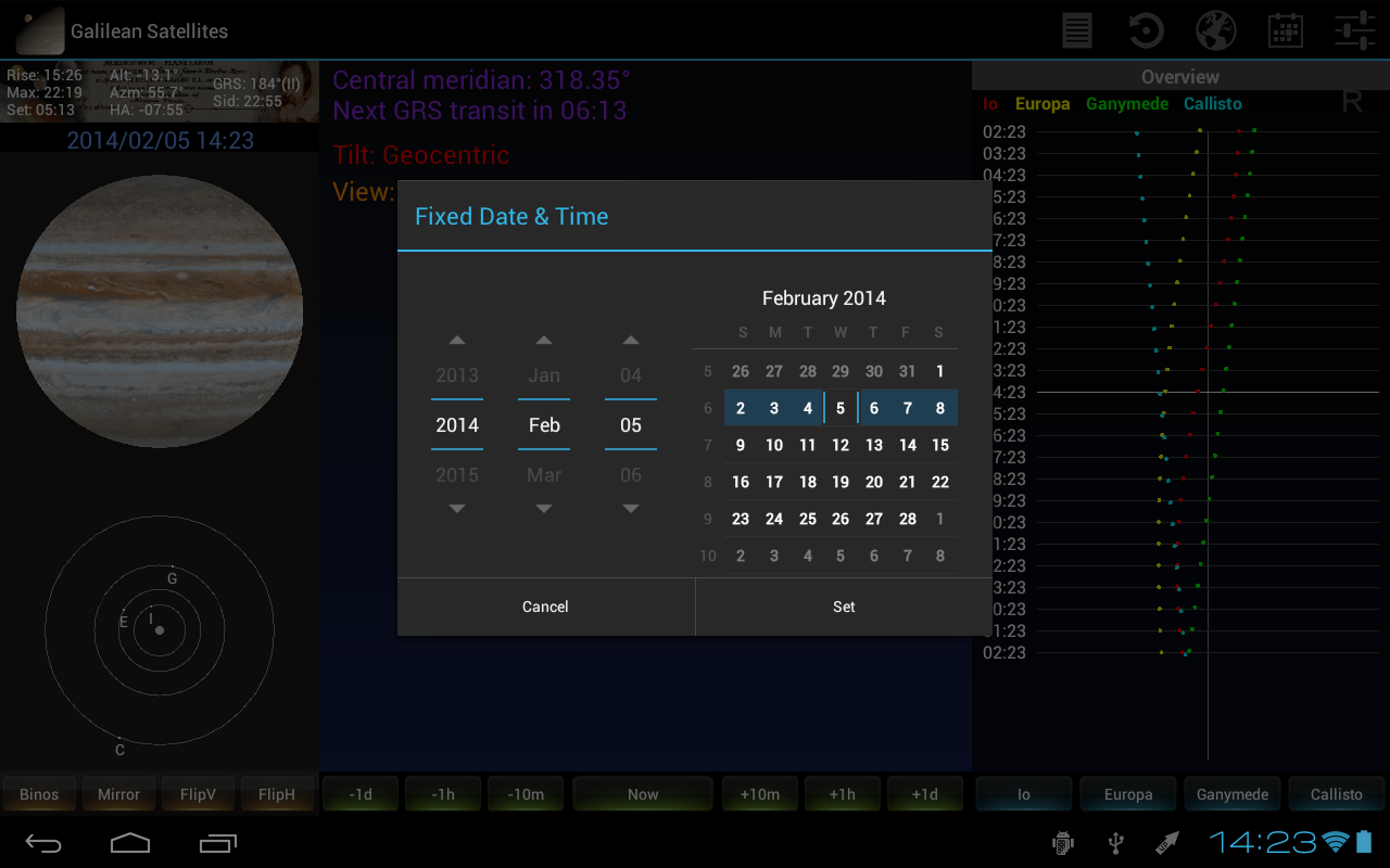 Galilean for Tablets - screenshot