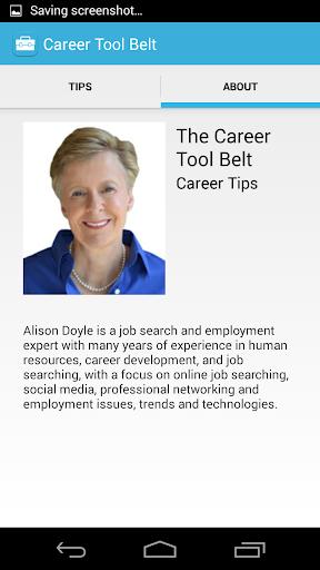 Career Tool Belt-Alison Doyle