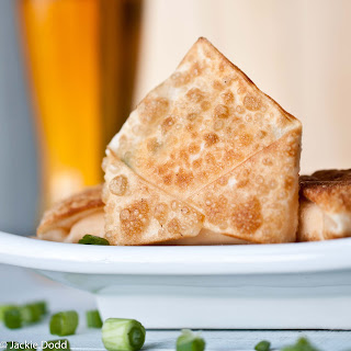 Beer Cheese Wontons