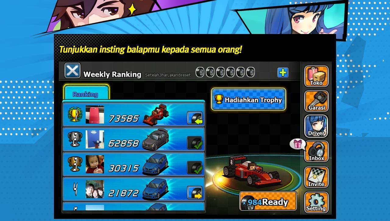 Race Cha Cha Cha for Kakao - screenshot
