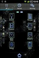 Screenshot of Futuristic GO Launcher EX