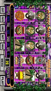 Aztec Sun Slot Machine - screenshot thumbnail