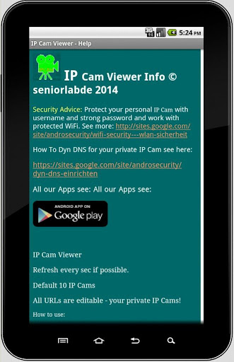 how to use ip webcam app