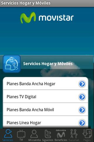 Sucursal Móvil de Movistar - screenshot
