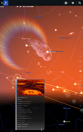 Mapa Estelar App para Android