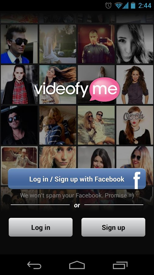 VideofyMe - screenshot