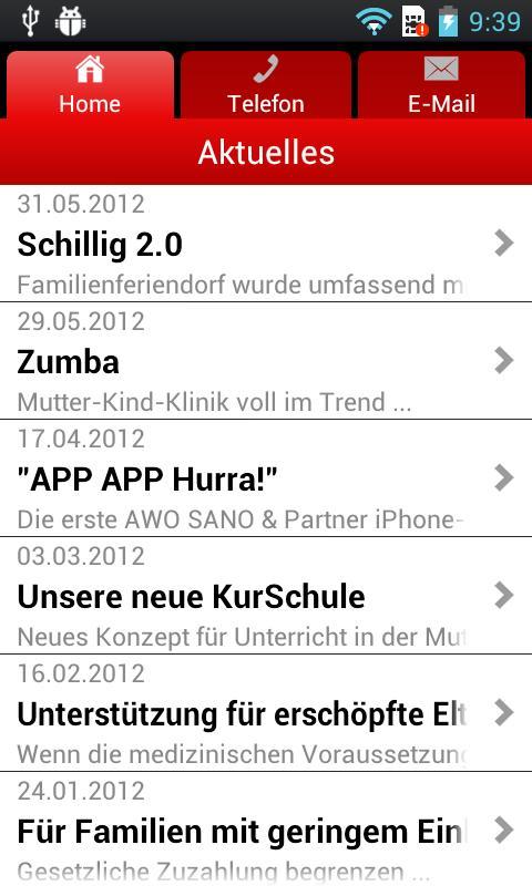 AWO SANO- screenshot