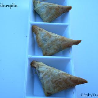 Manitaropita / Greek Mushroom Pie